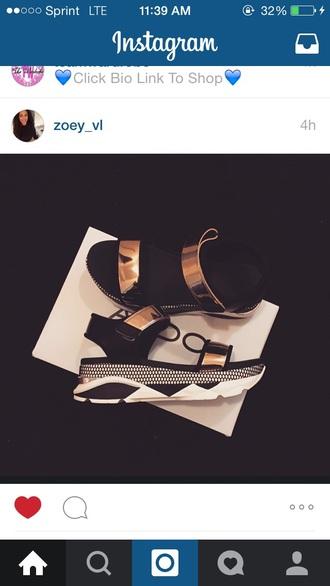 shoes high heel sandals metallic shoes platform sandals gold shoes trendy