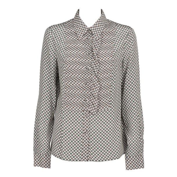 Bottega Veneta shirt white print top