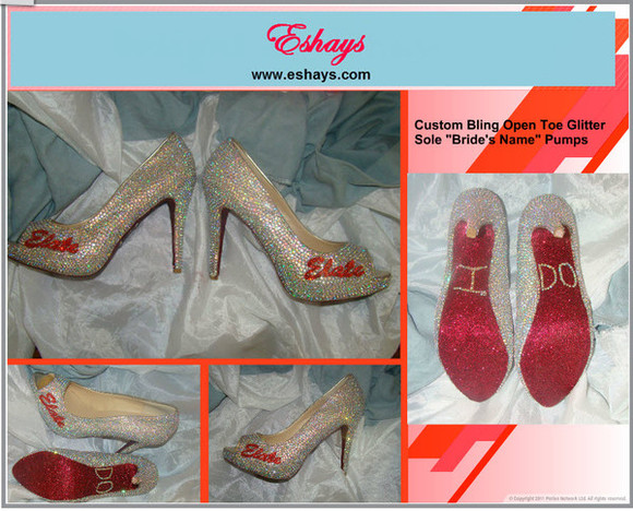clothes: wedding shoes wedding crystal swarovski pumps wedding shoes swarovski nike free runs 5.0 cheap wedding dresses, short wedding dresses, maternity wedding dresses, plus size wedding dresses, red bottom heels glitter shoes www.eshays.com
