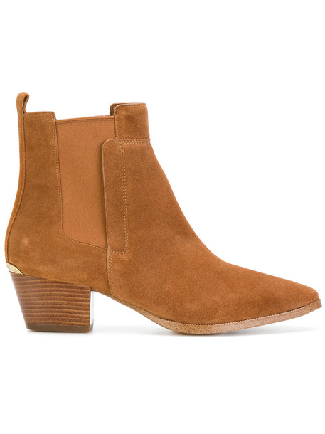 MICHAEL Michael Kors women ankle boots leather nude shoes