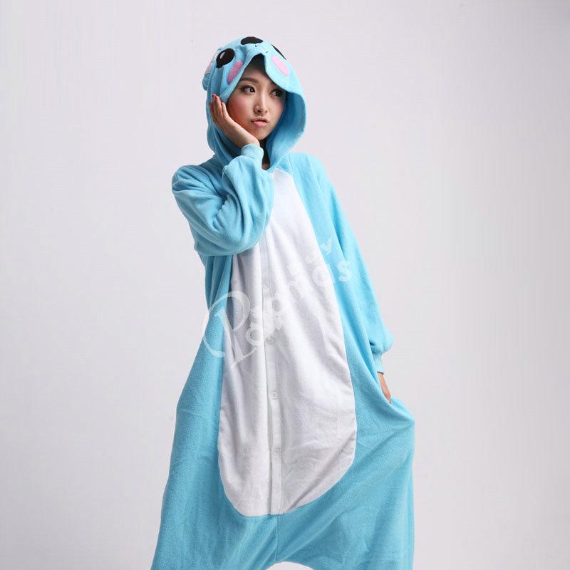 Onesies Hoodie Blue Koala Unisex Costume Kigurumi Pajamas Pyjama