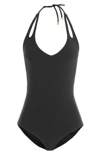 straps black swimwear