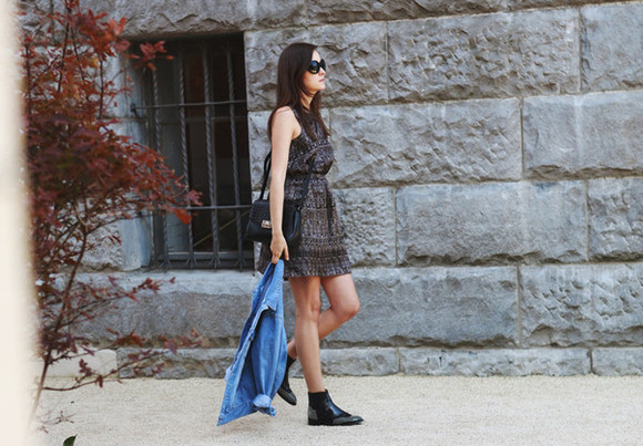 style scrapbook shoes jacket bag sunglasses blogger