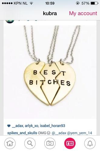 jewels best friends necklace necklace friendship necklace