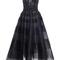 Embellished tea length dress | moda operandi