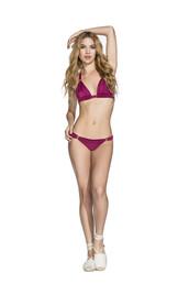 swimwear,cheeky,halter top,purple,bikini