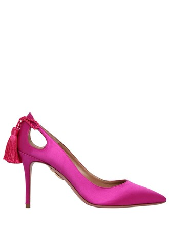 forever pumps satin shoes