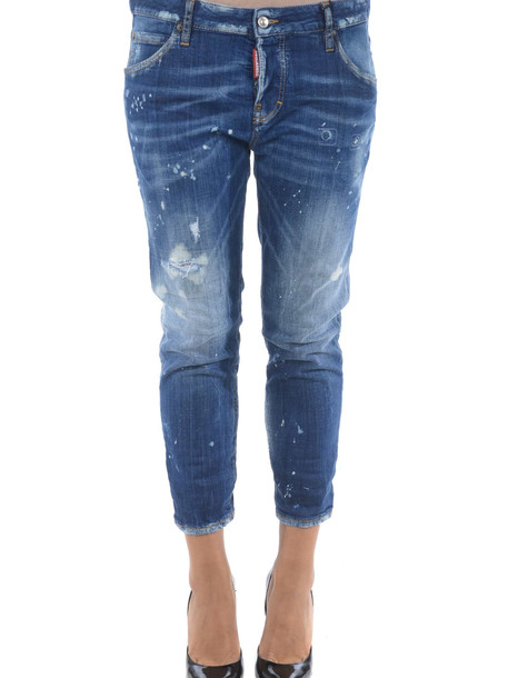 Dsquared2 Faded Jeans in denim