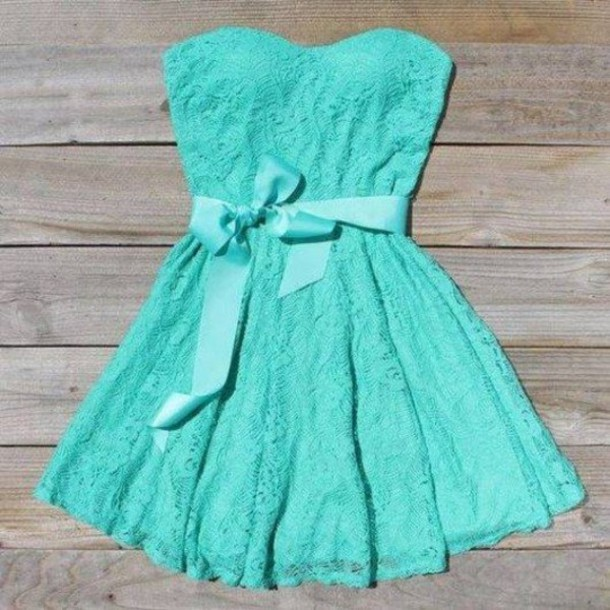 Cute Tiffany Blue Dress - Shop for Cute Tiffany Blue Dress on ...
