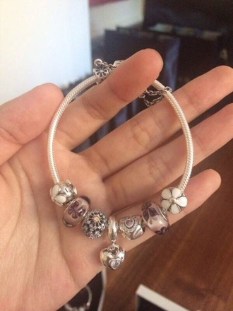 jewels silver braclet