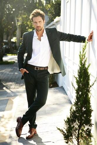 tank top suit mens suit menswear formal