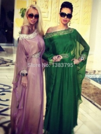 dress tunic dress arabic style luxury summer dress dubai diamonds oriental middle east