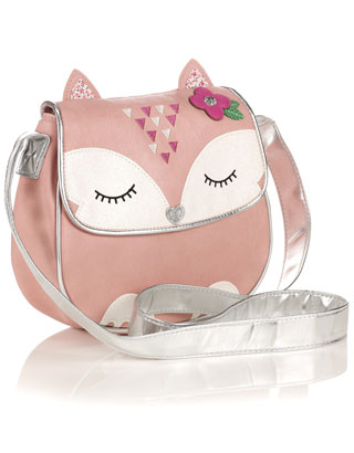 Felicity Fox Cross Body Bag | Pink | Accessorize