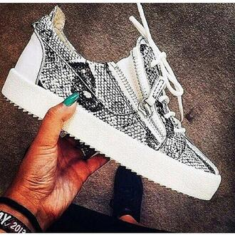 shoes sneakers luxury snake