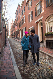 kelsey bang,blogger,hat,coat,pants,shoes,make-up,shirt,jeans,winter outfits,faux fur coat,menswear