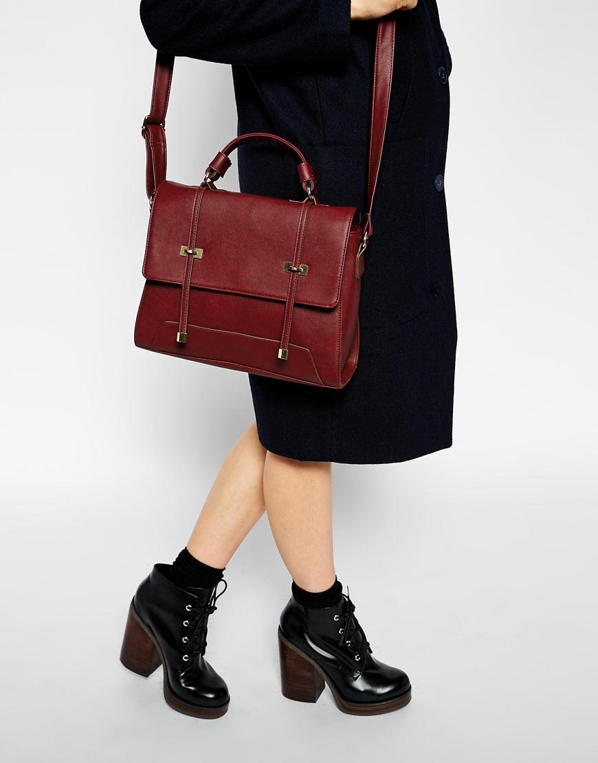 Asos slot through satchel bag at asos.com