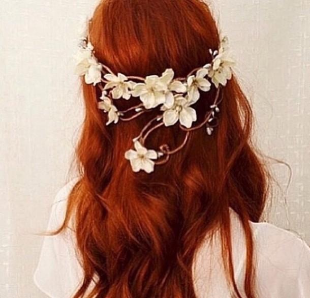 Hat Hippie Headband Hipster Wedding Flowers Flower Hair