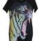 Elasticated tiger printed dress [ncska0008] - $31.99 :