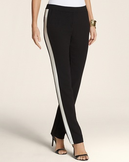 Color Block Slim Ankle Pant - Chico's