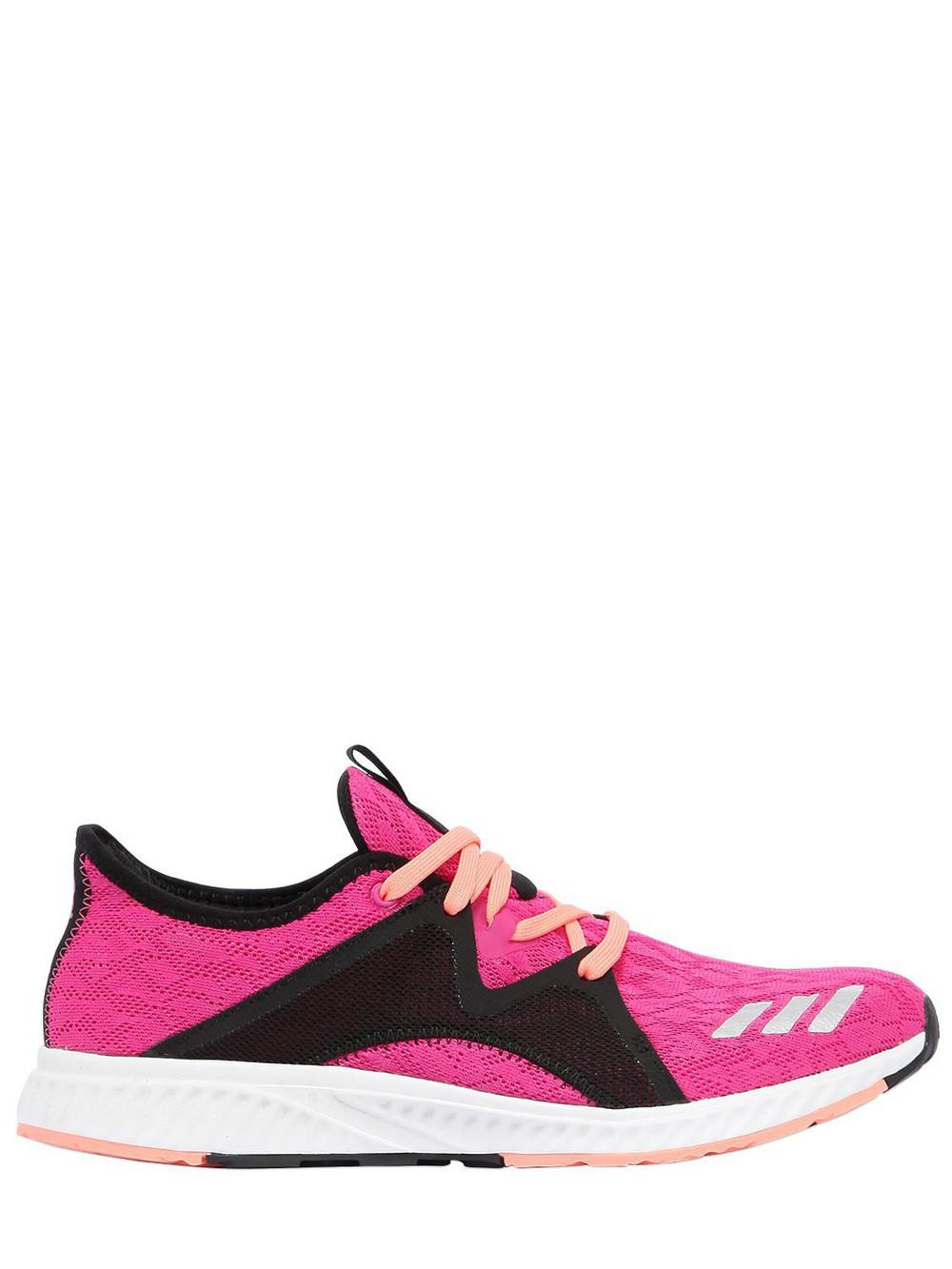 ADIDAS PERFORMANCE Edge Lux 2 Air Mesh Sneakers in black / fuchsia