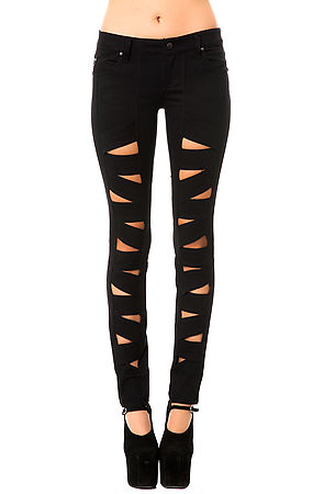Tripp NYC Jean Z Cut in Black -  Karmaloop.com