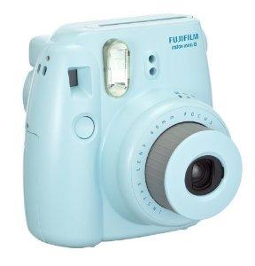 Amazon.com : fujifilm instax mini 8 instant film camera (blue) : polaroid camera : camera & photo