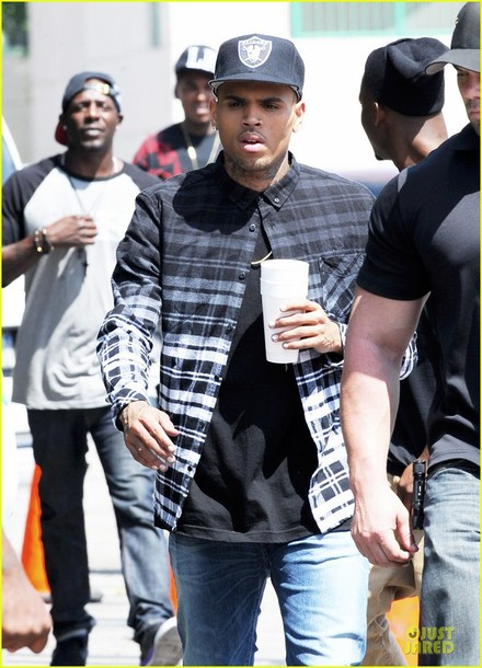 shirt flannel shirt chris brown menswear blouse checkered chris brown  shirt