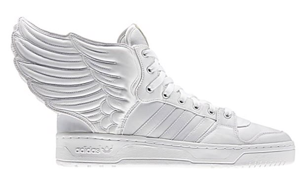 adidas JS Wings 2.0 White/White  | NiceKicks.com