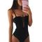 Chicloth in the morning sunshine one-piece swimsuit