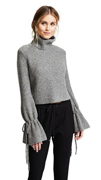 A.L.C. sweater grey