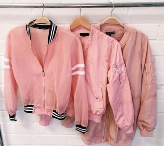 jacket pink cool