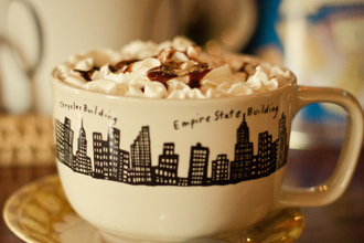 jewels cup new york city black quote on it coffee cute clothes vintige food