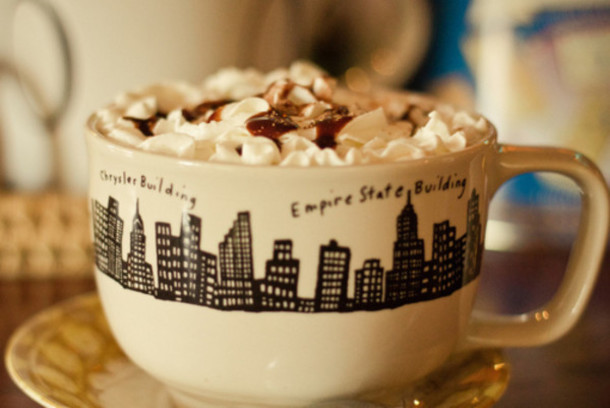 jewels cup new york city black quote on it quote on it coffee new york city cute clothes vintige food coffee