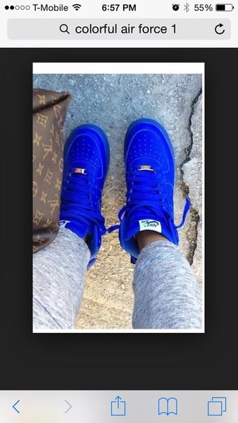 shoes blue nike nike sneakers