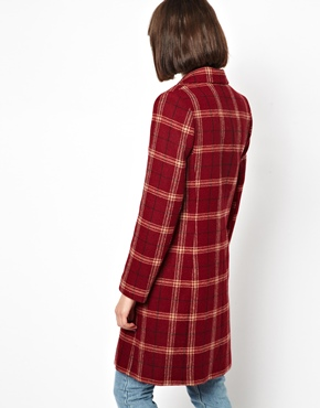Helene Berman | Helene Berman Classic College Coat in Plaid  Check at ASOS
