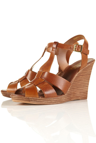 wedges leather wedges shoes
