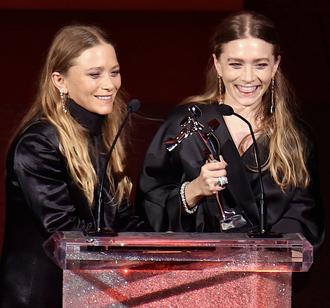 olsen sisters blogger jewels top jacket blouse