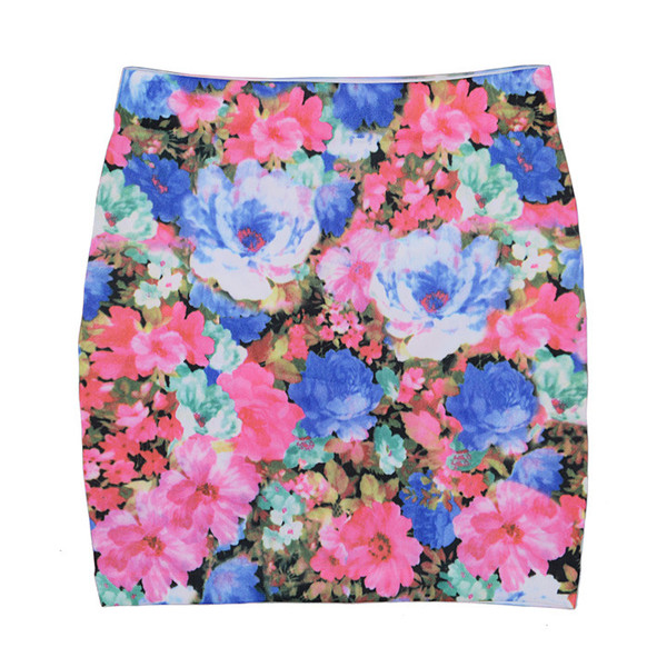 Floral Lea Mini Skirt | Outfit Made