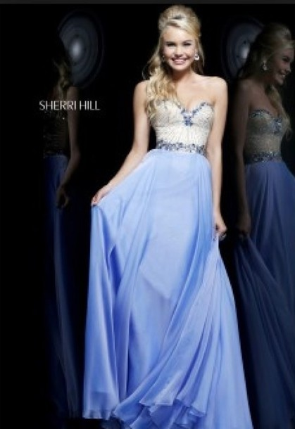 dress sherri hill prom dress long prom dress