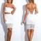 Lydia lace cross-back set – dream closet couture