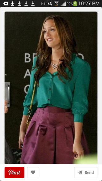 skirt gossip girl gossip girl blair dress blouse dress