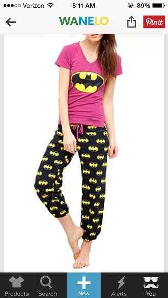 pajamas batman pajamas