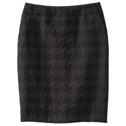 Merona® Women's Jacquard Pencil Skirt - Black : Target