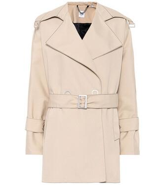 jacket cotton beige