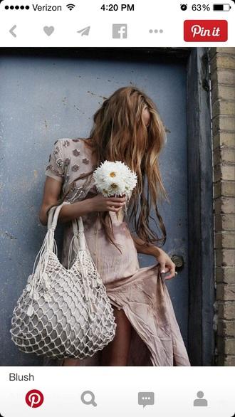 sequin blush blush floral long hair tie dye dress