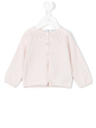 cardigan cotton purple pink sweater