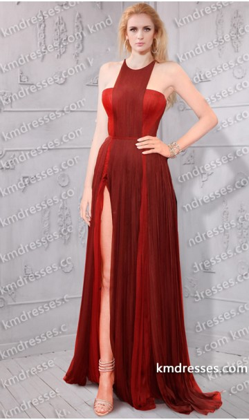 High slit fully pleated gown inspired by blake lively at cannes film festival 2014