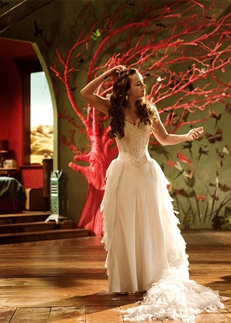 dress wedding dressite white dress penelope pig nose dream movie movie dress wedding dress beautiful
