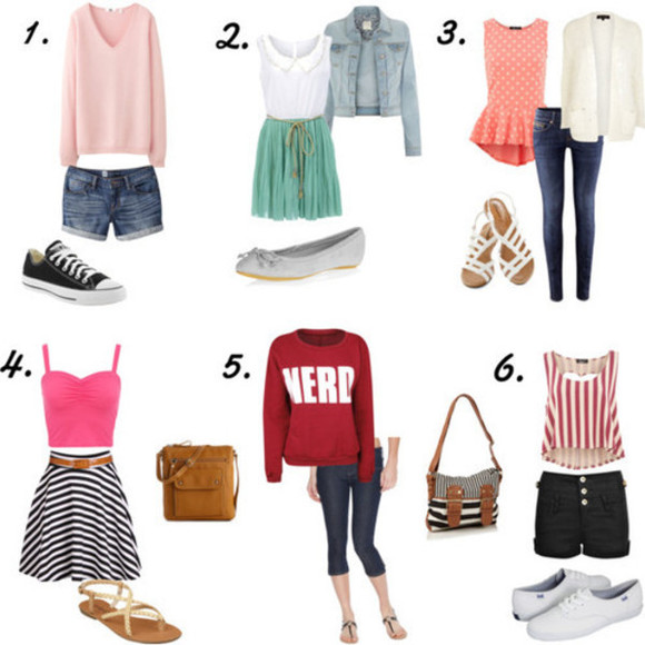 tank top shirt shorts blouse t-shirt jeans shoes jacket jewels sweater bag