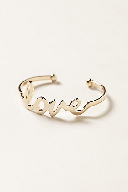 Manchette Love Note - anthropologie.com